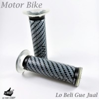Handfat Hand Grip Carbon Motor Universal Warna Abu