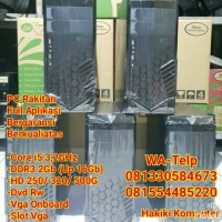 Komputer PC CPU Core i5 Ram 2Gb HD 320Gb Dvd Rw