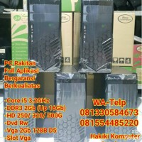 Komputer PC CPU Core i5 Ram 8Gb HD 500Gb Vga 2GB DDR5