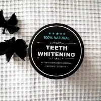 Charcoal Powder Activated Teeth /Masker Charcoal/Pemutih Gigi Charcoal
