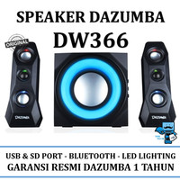 Speaker Aktif Dazumba Speaker DW366 / DW 366 - Bluetooth