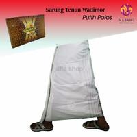 PROMO Sarung Wadimor Polos Putih Garis PALING MURAH