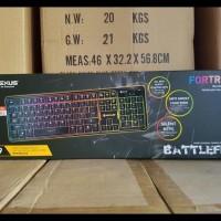 Harga best seller rexus k9 fortress backlit floating keys gaming | WIKIPRICE INDONESIA