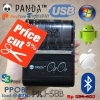 PROMO STOCK MINI PRINTER MOBILE BLUETOOTH KASIR PPOB PORTABLE STRUK K