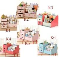 Kotak laci rak tempat kosmetik organizer 25 X 16 CM COSMETIC STORAGE