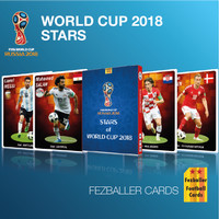 Kartu Bola Fezballer Cards edisi Star Players of World Cup 2018 #1