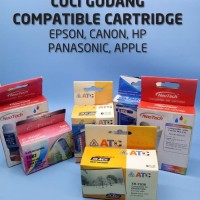 New CUCI GUDANG COMPATIBLE CARTRIDGE EPSON, CANON, HP PANASONIC, APPLE