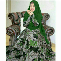 GAMIS MONALISA / dress motif #132 / hijab syari baju muslimah