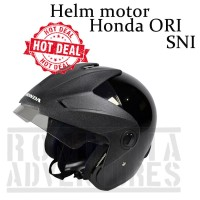 Helm Motor Ori Honda Half Face SNI Murah Meriah Obral