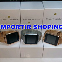 Jam Tangan Smartwatch Z60 / Smart Watch U11 / Stainless