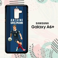 Casing Samsung Galaxy A6 Plus 2018 Custom HP Antonie Griezmann L2607
