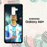Casing Samsung Galaxy A6 Plus 201 HP Paulo Dybala Argentina L2591