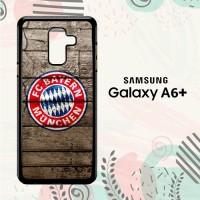 Casing Samsung Galaxy A6 Plus 2018 Custom HP Bayern Munchen LI0144