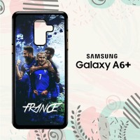 Casing Samsung Galaxy A6 Plus 2018 HP France Football Team L2613