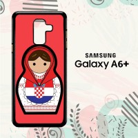 Casing Samsung Galaxy A6 Plus 2018 Custom HP Croatia Matroska L2563