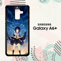 Casing Samsung Galaxy A6 Plus 2018 HP Beautiful Witch Anime LI0145