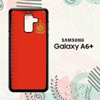 Casing Samsung Galaxy A6 Plus 2018 HP Spanyol Jersey Home LI0183