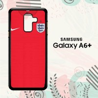 Casing Samsung Galaxy A6 Plus 2018 HP England Jersey Away LI0166