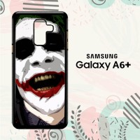 Casing Samsung Galaxy A6 Plus 2018 Custom HP Joker Face Haha LI0178
