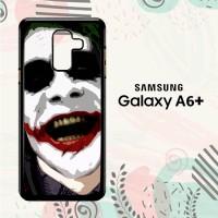 Casing Samsung Galaxy A6 Plus 2018 Custom HP Joker Face Haha LI0178