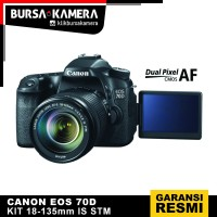 CANON CAMERA EOS 70D KIT EF-S 18-135mm KAMERA DSLR