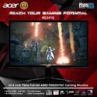 Acer KG241Q 23.6 inch 75Hz Full HD AMD FREESYNC Gaming Monitor
