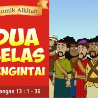 Komik Alkitab : DUA BELAS PENGINTAI