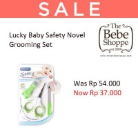 Lucky Baby Safety Novel Grooming Set