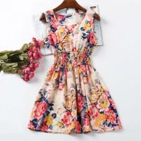 Summer Dress Flower Pastel