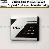 Baterai Lava Iris 505 LEB108 LEB 108 Original OEM Batre Ori HP LEB-108