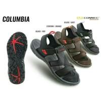 Jual Sepatu Sendal Sandal Gunung Hiking Pria Cowok Connec COLUMBIA Original Murah