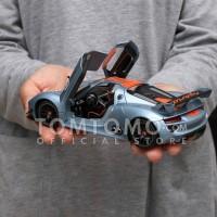 Tomtomo Porsche 91RSR Diecast Miniatur Mobil Mobilan Mainan Anak Laki