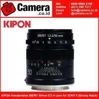 KIPON HandevisionIBERIT 50mm f/2.4 Lens for SONY E (Glossy Black)