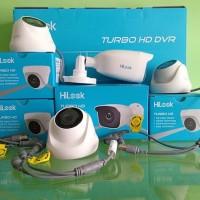 Paket CCTV HiLook 4 Channel 1080P