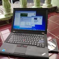 Laptop Desain Gaming Lenovo T410 Core i7 Nvidia 1440x900 Mulus