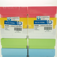 Cryobox Color 2 Inch ( box sampel tabung 1,5 ml ) 81 well | Biologix