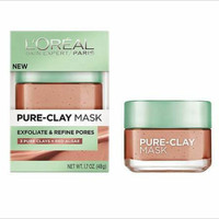 loreal pure clay mask import