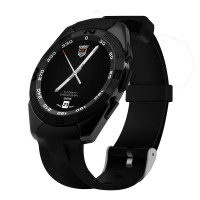 Smartwatch Jam Tangan Pintar Fitness Tracker Casual G5 Black