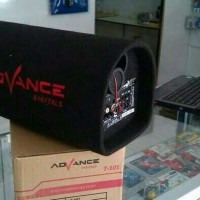 SPEAKER AKTIF MOBIL SUBWOOFER ADVANCE 5 IN SUARA BASS ADVAN ORIGINAL