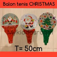 Balon tenis natal christmas