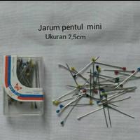 JARUM PENTUL MINI PANJANG 2,5 CM