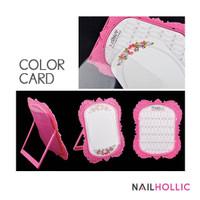 48 colors standing nail polish color chart / display kutek
