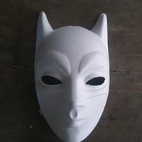 TOPENG LUKIS POLOS batman superhero pulp