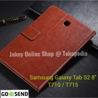 Samsung Galaxy Tab S2 8 Inch T710 T715 FLIP COVER WALLET leather case
