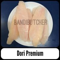 Ikan Dori Dory Fish Segar / Dory Fish n Chips Murah - Fillet Ikan Dori
