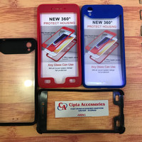 Hardcase Aproline 360 Derajat Full Body Back Transparan Oppo A71