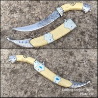 Pisau Zambia Knife Sarung Fiber - ZMB90 - Pisau ACE One Piece