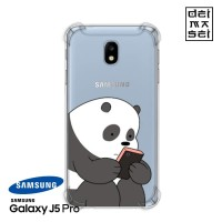 We Bare Bears Panda 1 Casing Samsung Galaxy J5 Pro Anti Crack Case HP