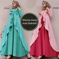 Gamis Dress Aj Yt Maxi Marsya Maxy Tosca Dusty Murah Muslim AGC1912