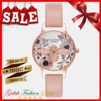 Jam tangan wanita Fashion OLIVIA BURTON BEE Rose original + Box